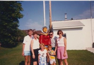 Minnesota vacation with Bob and Sharon Heller