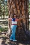 Lois at Mt Charleston in Nevada