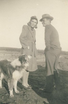JUANITA, LESTER & THEIR DOG