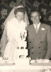 Mum and Dad's wedding - July 14, 1955