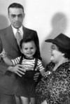 Dick with Bertha and Lawrence Powell
