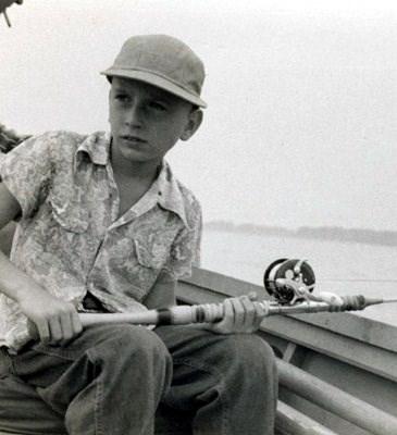 Doug fishing.