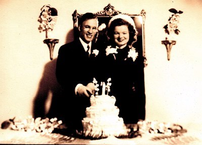 Robert and Alma married in 1948