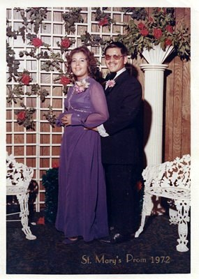 Anna and Ruben Prom 1972