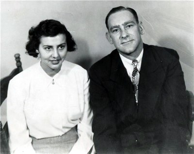 Mitzi and Dale marry in 1949.