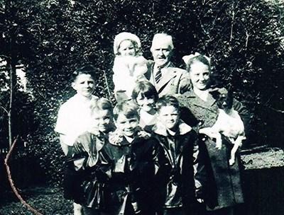 With father,Joseph A. Doyle, Sr.;cousin,Frances;brothers-Joe,Ingell,Arthur,and James;sister,Sarah