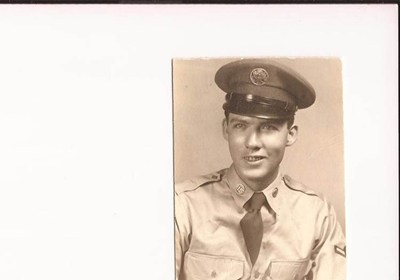 Nolen in Air Force.  He Served 4 Yrs.